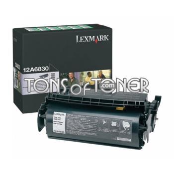 Lexmark 12A6830 Genuine Standard Black Toner