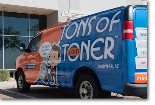 TONSofTONER Van
